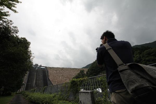 阿木川ダムを激写!