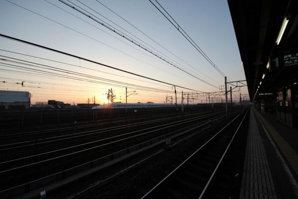 名鉄栄生駅からの風景