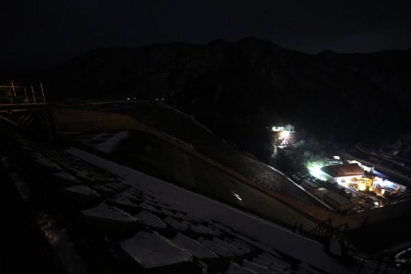 徳山ダム夜景