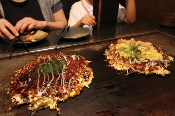 福えびす道頓堀店の大阪焼