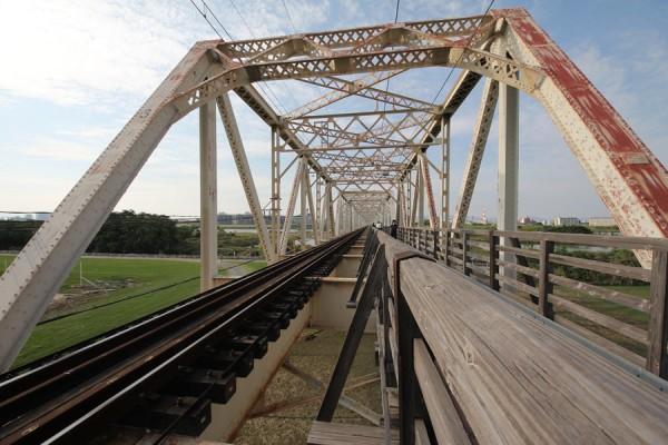 赤川鉄橋(左岸より)